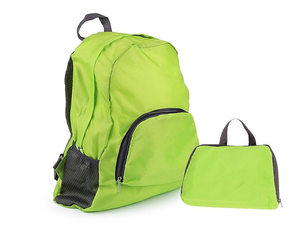 Lehký skládací batoh 31x42 cm