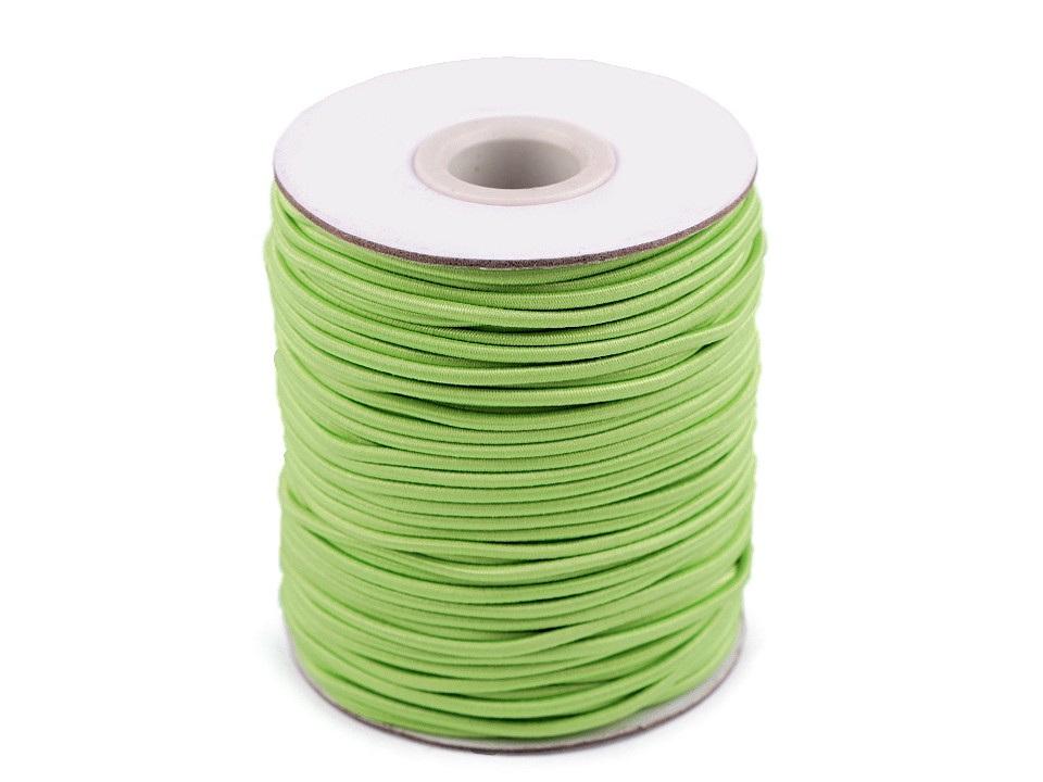 Kulatá pruženka Ø2 mm, barva 41 zelená past.sv.