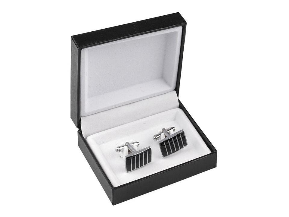 Manžetové knoflíky v krabičce
