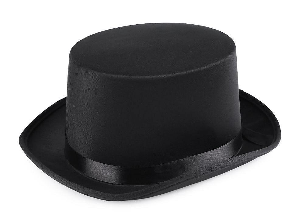 Dekorační klobouk / cylindr k dozdobení