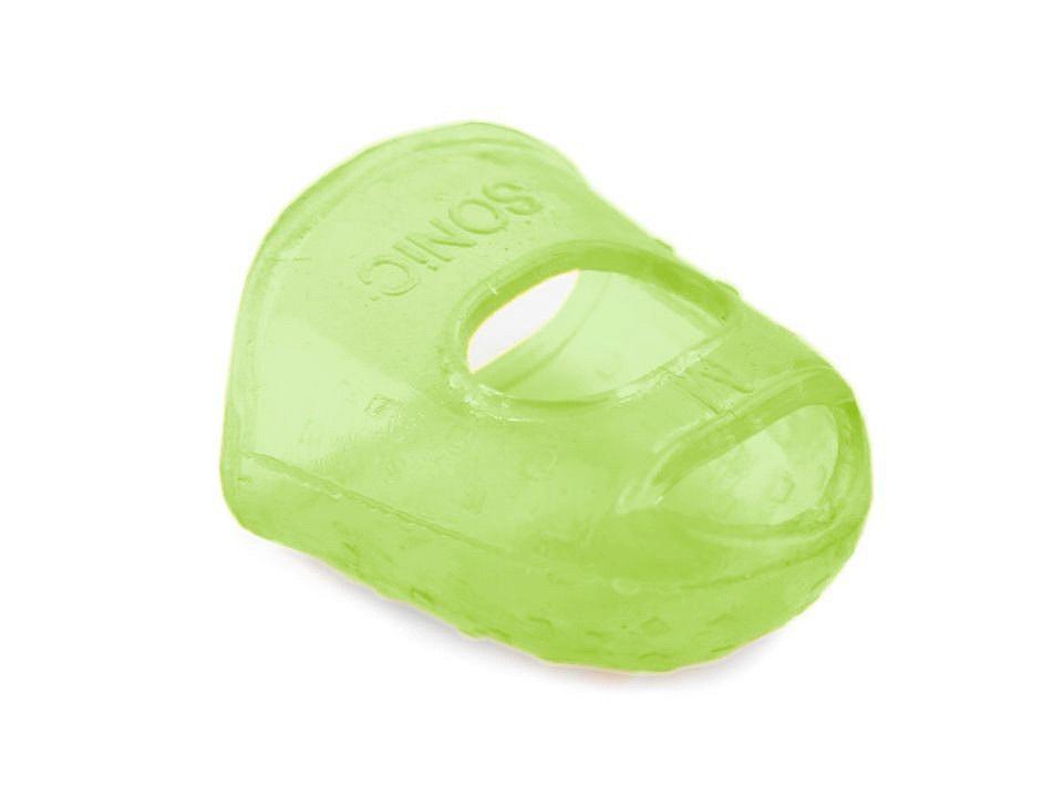 Náprstek silikonový, barva 3 zelená sv.