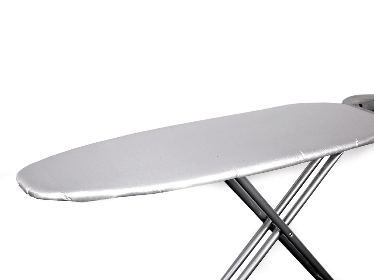 Teflonový potah na žehlicí prkno 50x140 cm, barva stříbrná