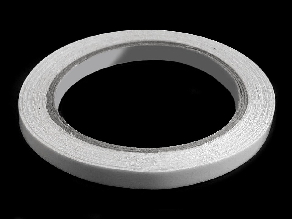 Oboustranná lepicí páska šíře 8 mm, 10 mm, 12 mm, barva 1 (8 mm) transparent