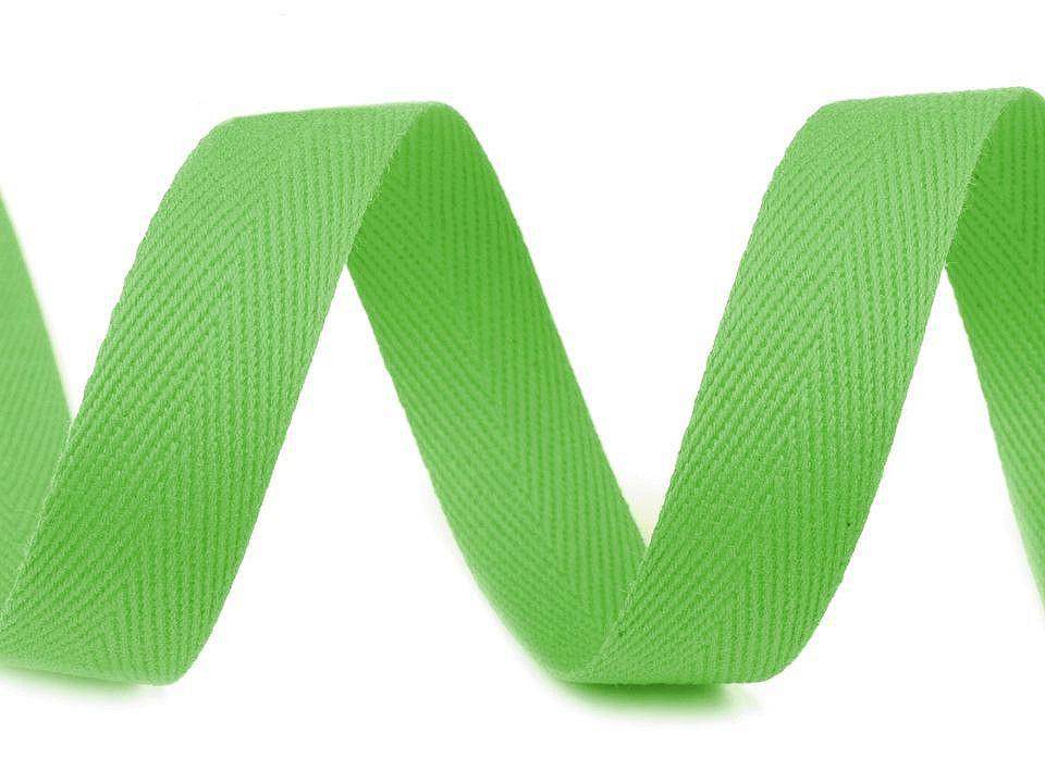 Keprovka - tkaloun šíře 16 mm, barva 1805 zelená trávová