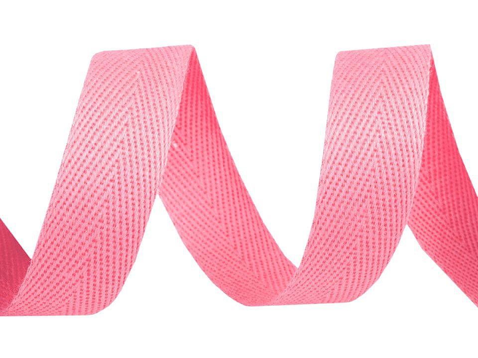 Keprovka - tkaloun šíře 16 mm, barva 1402 růžová sv.