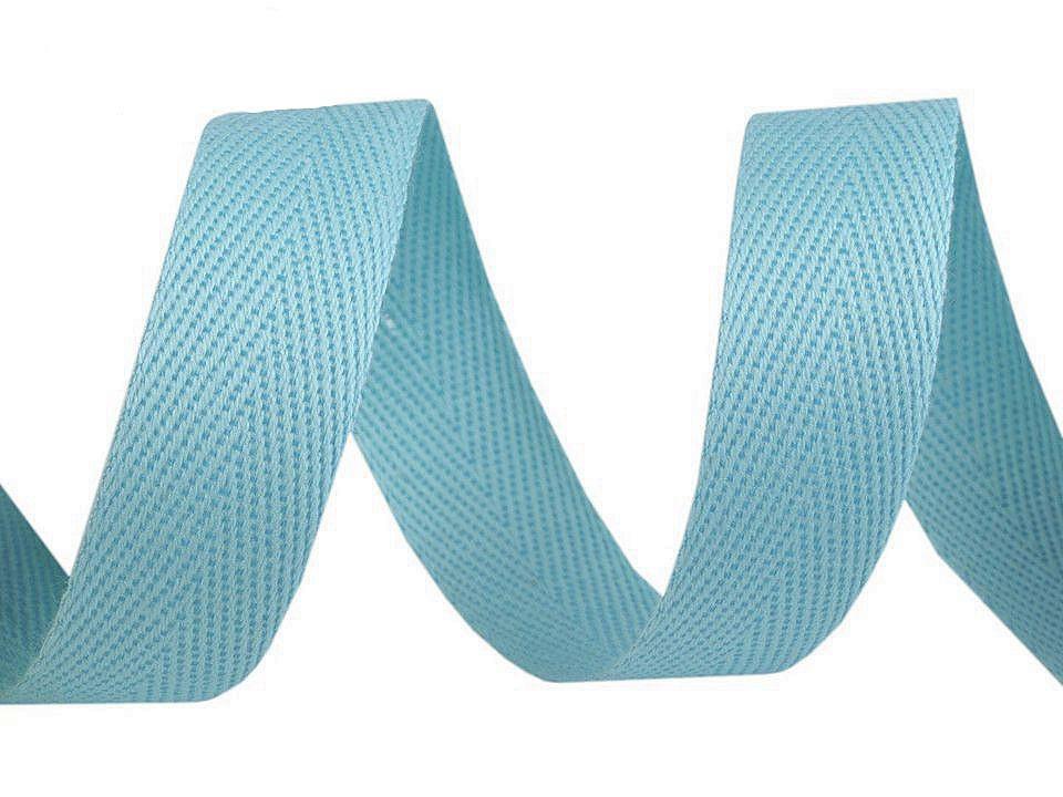Keprovka - tkaloun šíře 16 mm, barva 1708 tyrkys juka