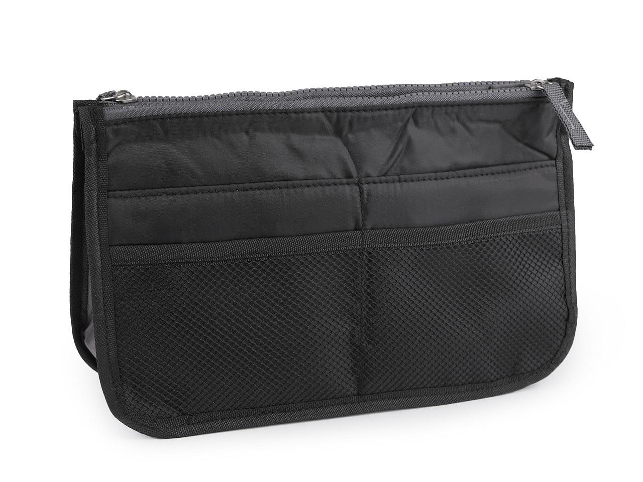 Organizér do kabelky 16x27 cm, barva 8 černá