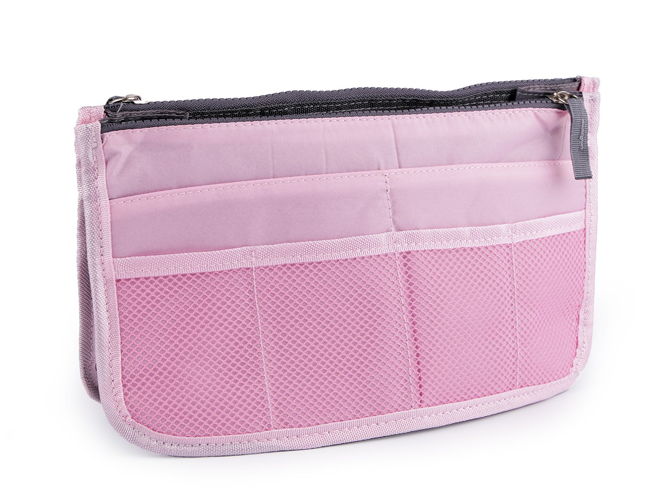 Organizér do kabelky 16x27 cm, barva 2 růžová sv.