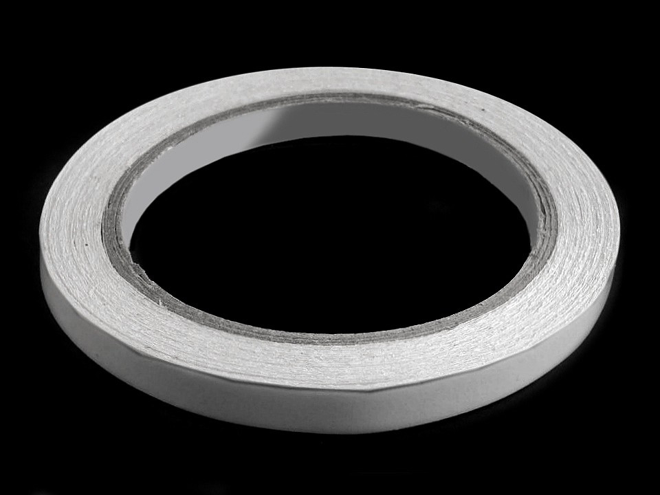 Oboustranná lepicí páska šíře 8 mm, 10 mm, 12 mm, barva 2 (10 mm) transparent