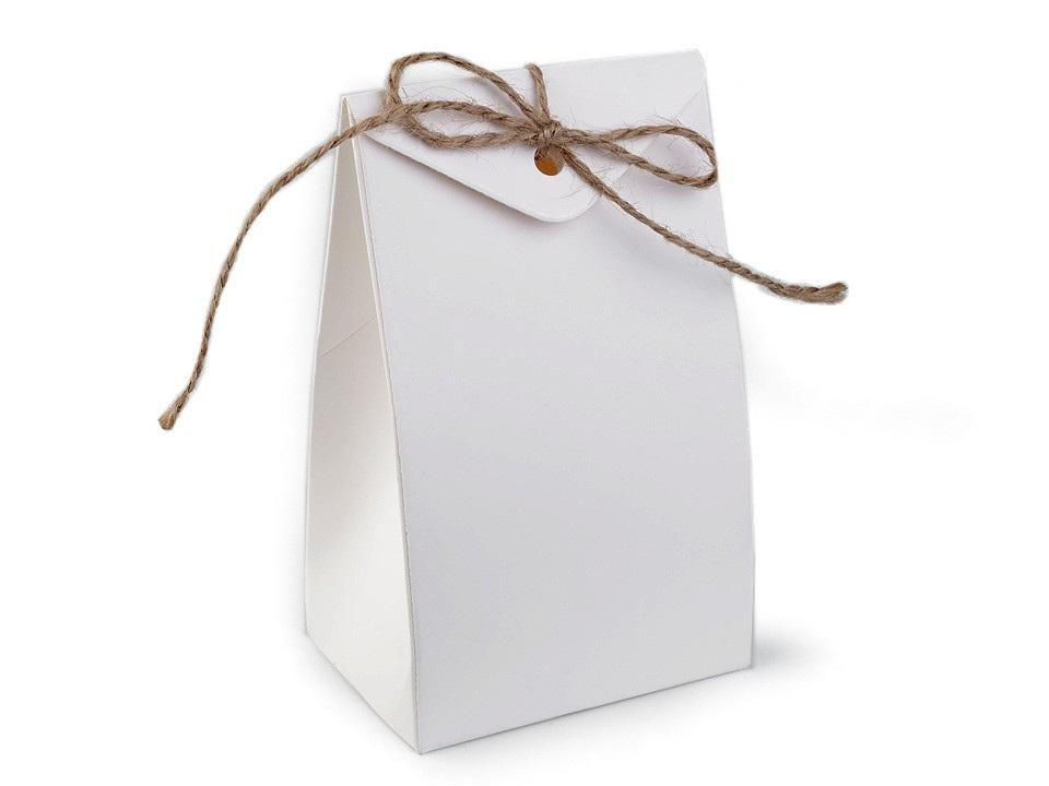 Papírová krabička s provázkem
