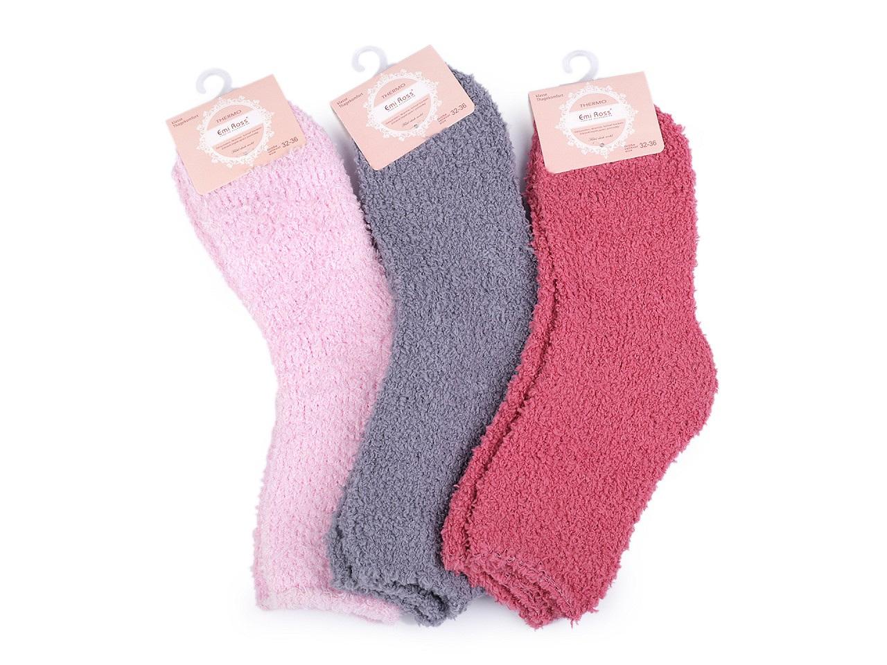 Dětské froté ponožky, barva (vel. 32-36) mix č. 5