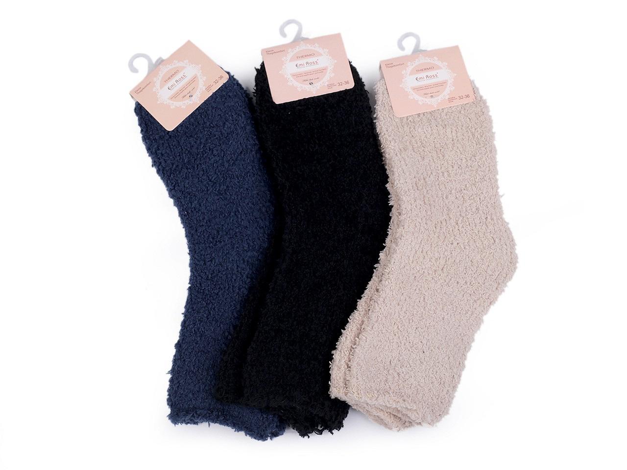 Dětské froté ponožky, barva (vel. 32-36) mix č. 6