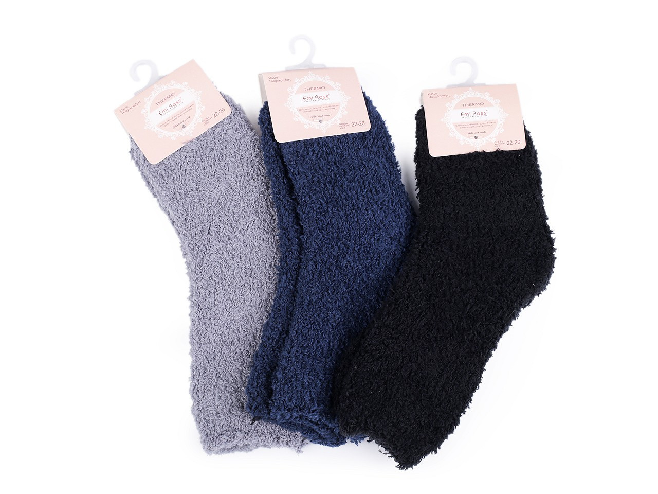 Dětské froté ponožky, barva (vel. 22-26) mix č. 2