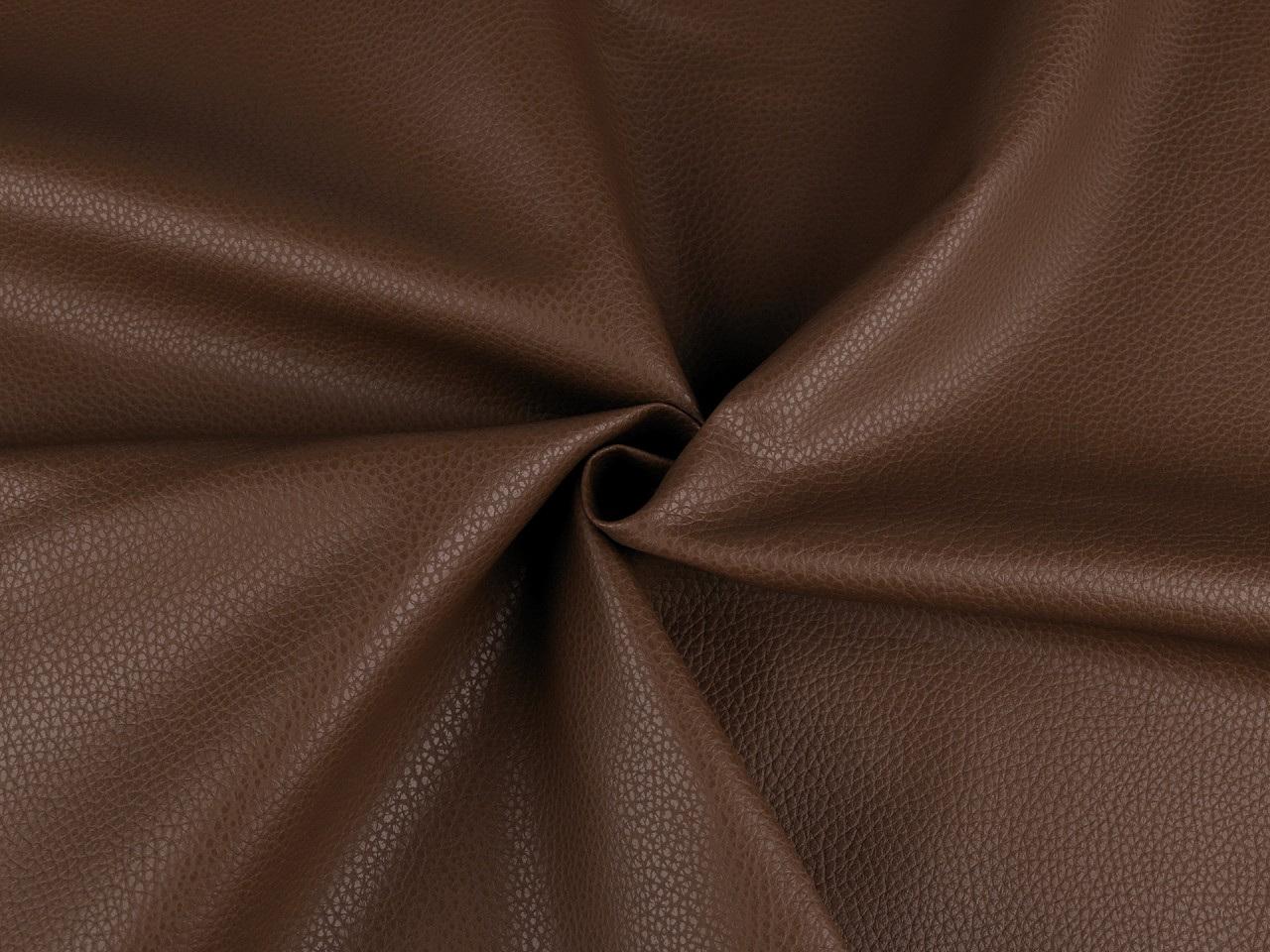 Koženka pro módní doplňky, barva 19 (6) - 480 g/m² hnědá