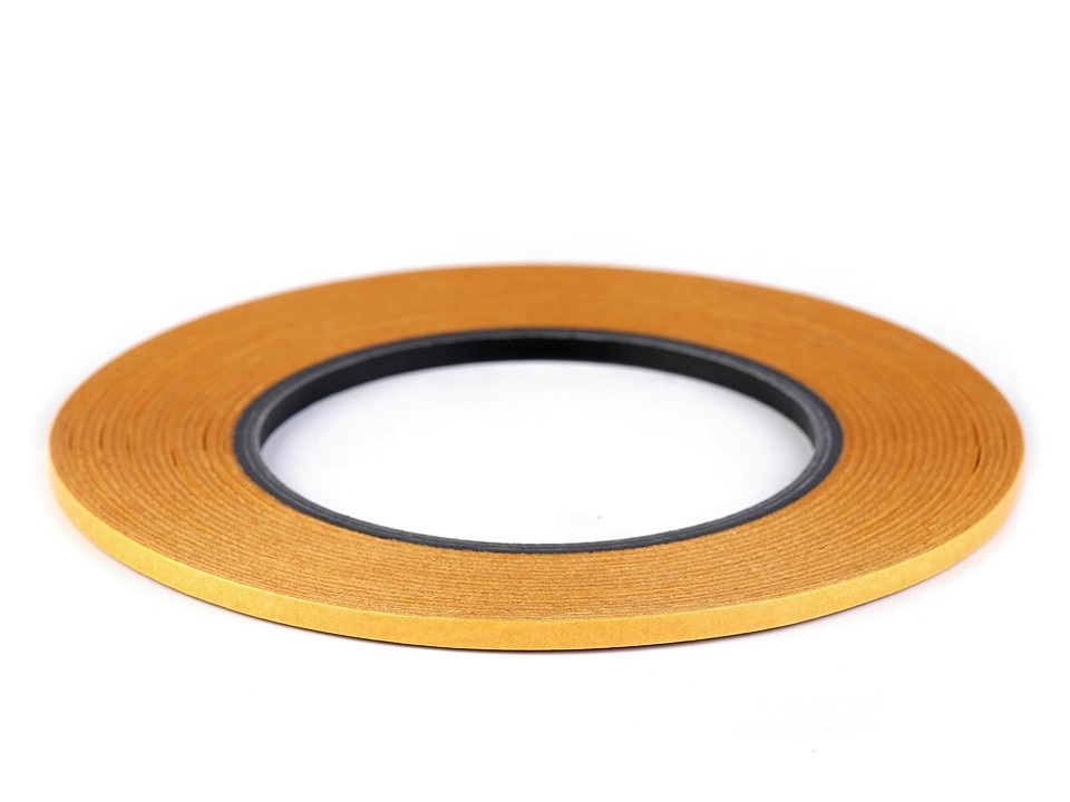Oboustranná lepicí páska na textil Stylefix 4 mm, barva transparent
