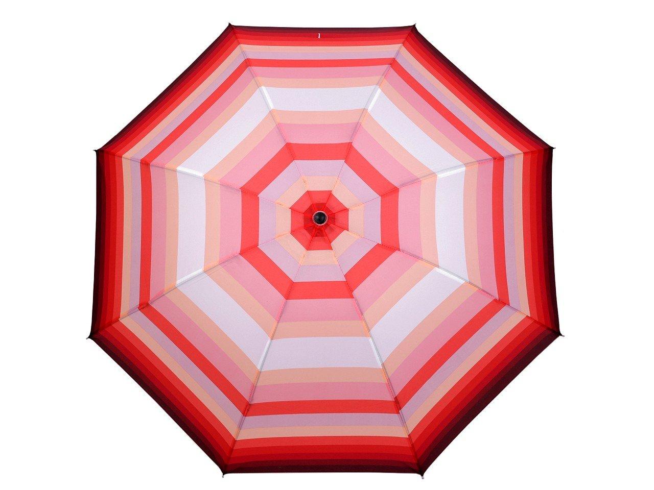 Dámský skládací deštník, barva 1 korálová