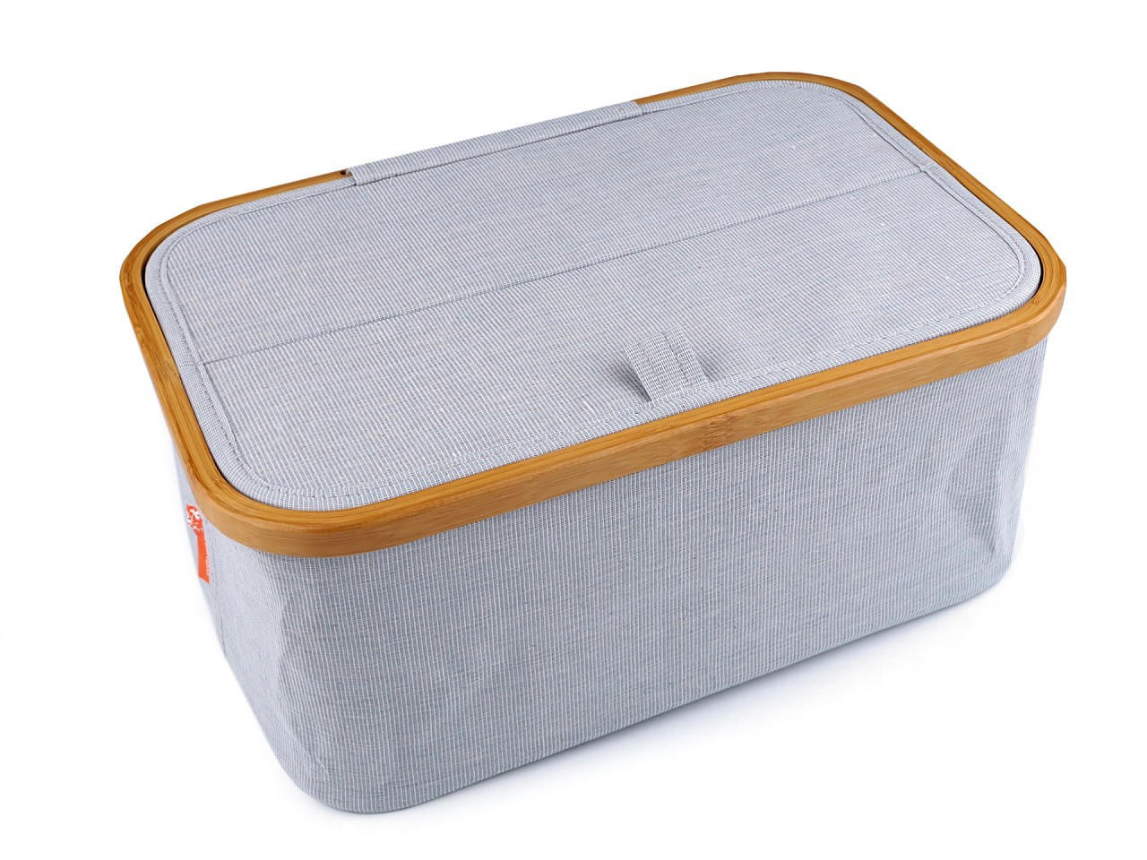 Skládací box na šicí potřeby a pletení, barva 1 modrá sv.