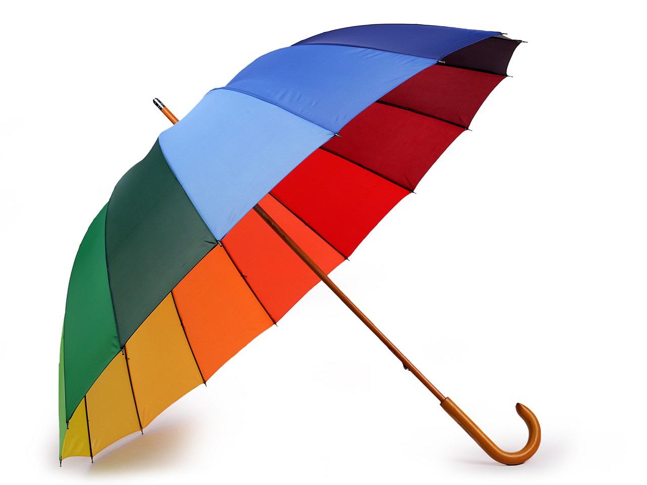 Dámský deštník duha