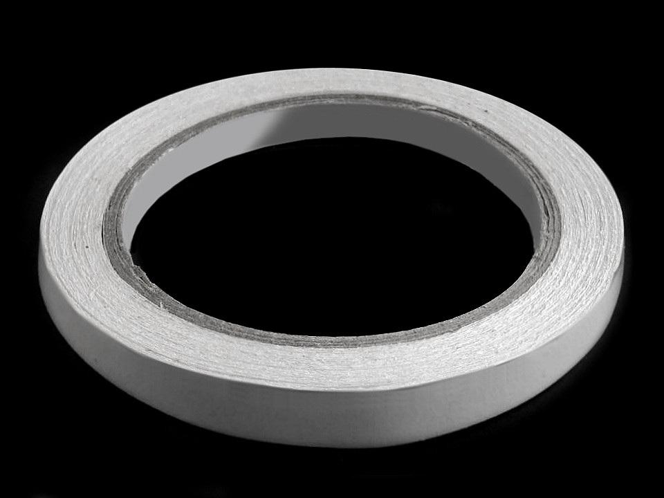 Oboustranná lepicí páska šíře 8 mm, 10 mm, 12 mm, barva 3 (12 mm) transparent