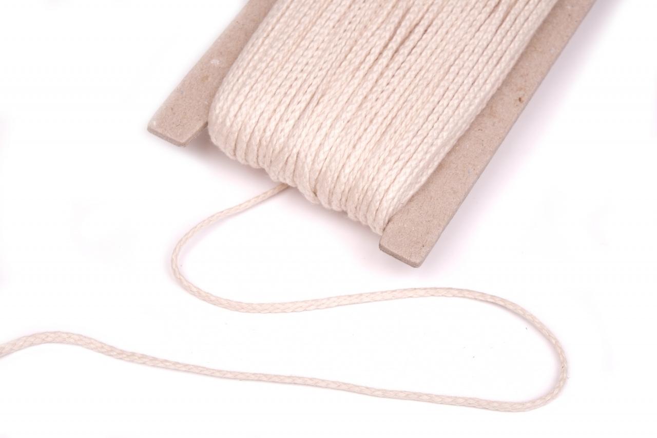 Knot bavlněný 2mm XINK, barva Béžová sv.