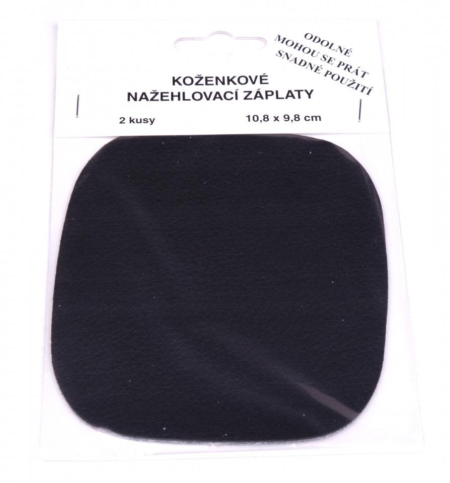 Nažehlovací záplaty koženkové 2ks 10,8 x 9,8 cm