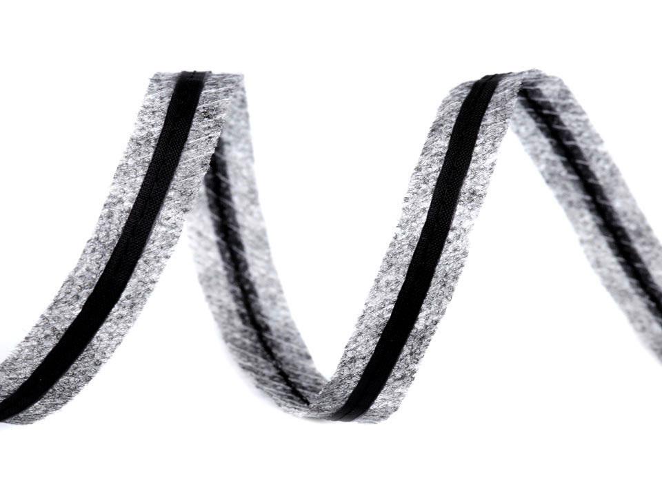 Zažehlovací proužek do švů s tkanicí