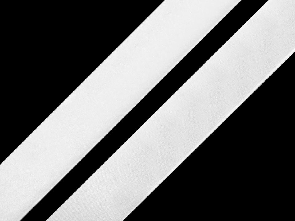 Suchý zip háček + plyš samolepicí šíře 16mm bílý a černý