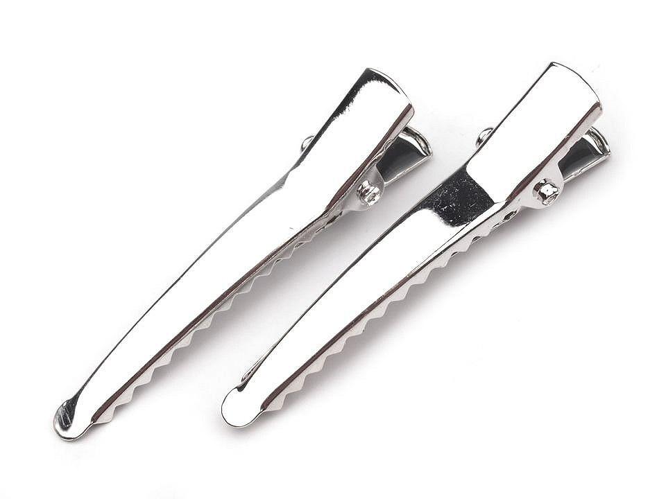 Spona do vlasů se zoubky délka 45 mm