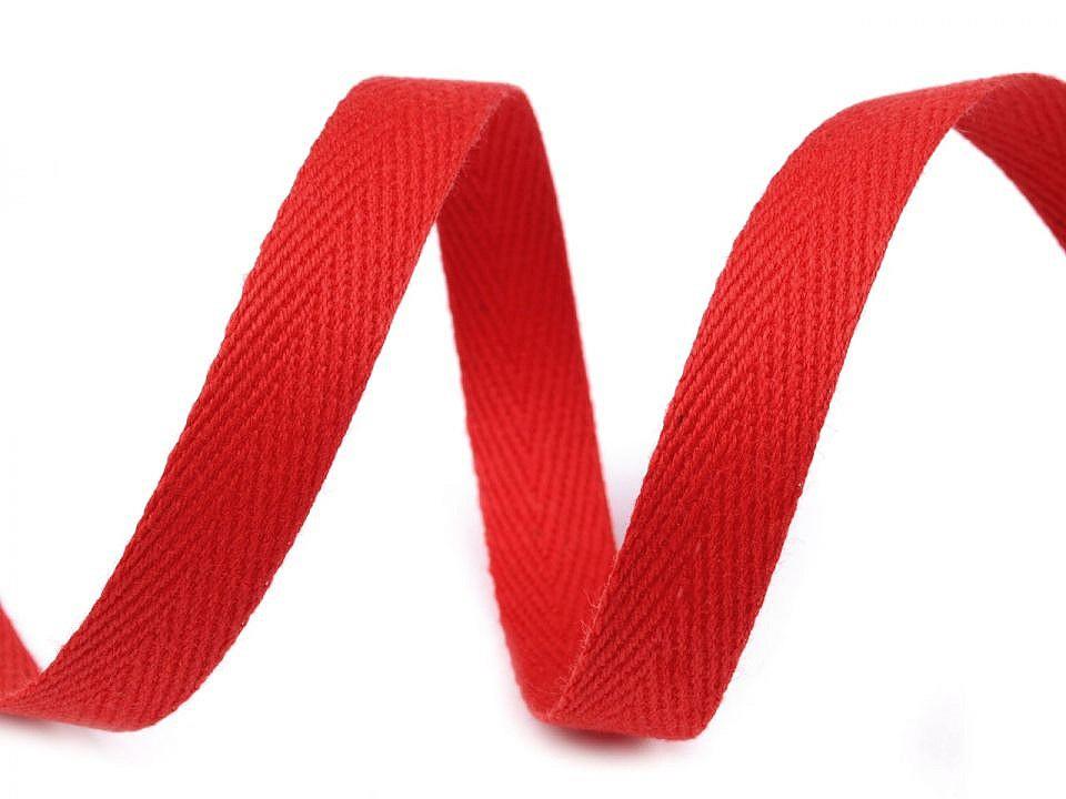 Keprovka - tkaloun šíře 12 mm, barva 7568 červená