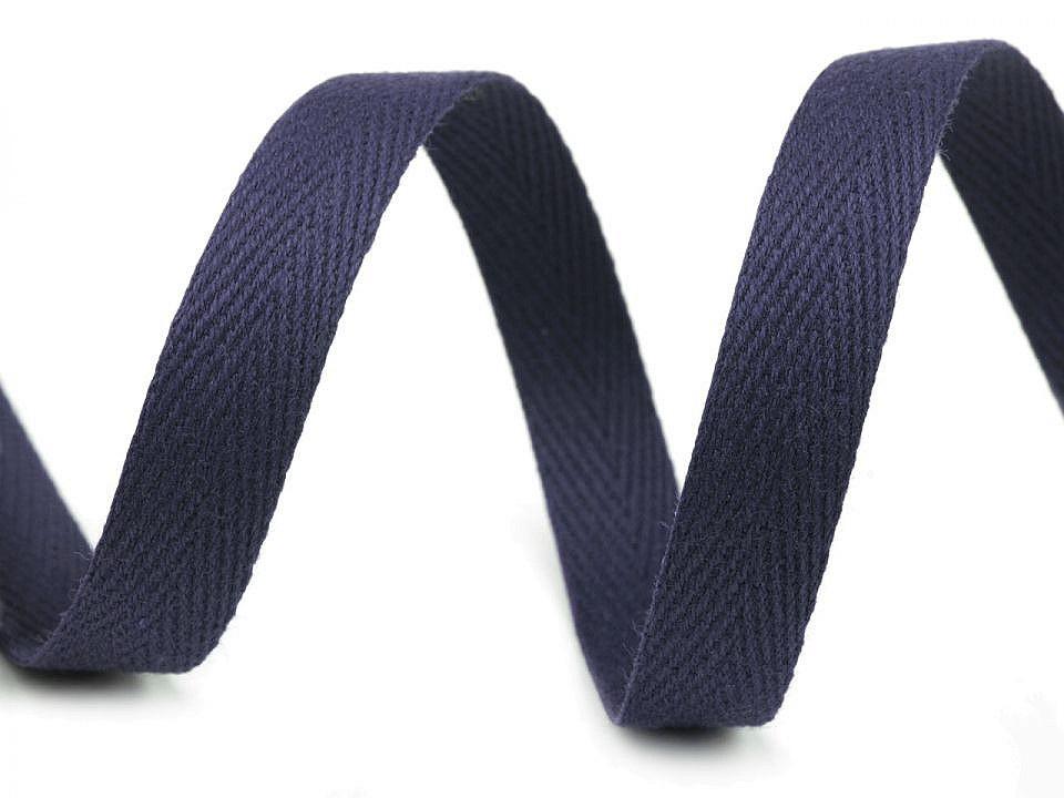 Keprovka - tkaloun šíře 12 mm, barva 7705 modrá pařížská