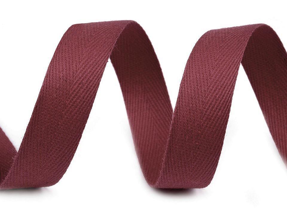Keprovka - tkaloun šíře 16 mm, barva 8550 granátová