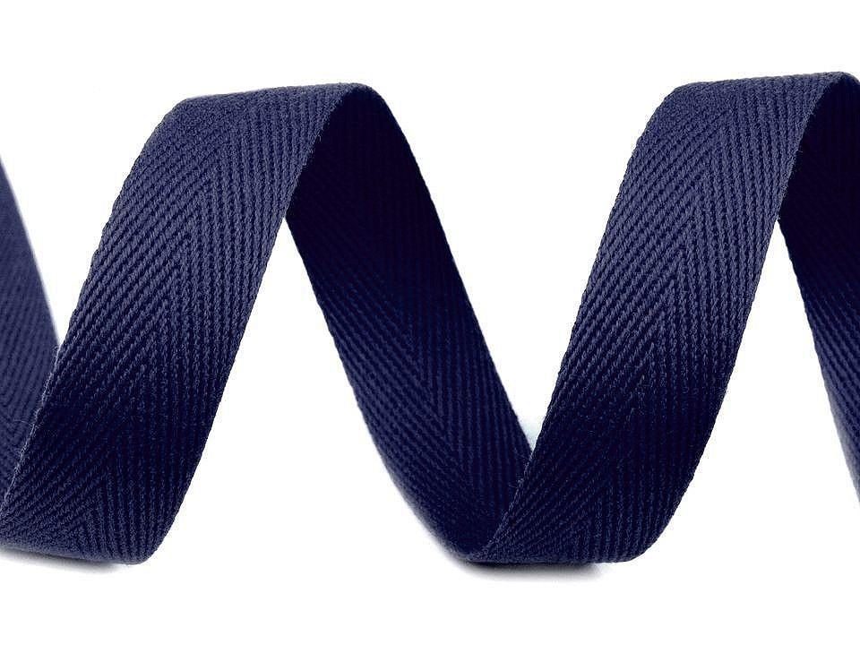 Keprovka - tkaloun šíře 16 mm, barva 7705 modrá pařížská