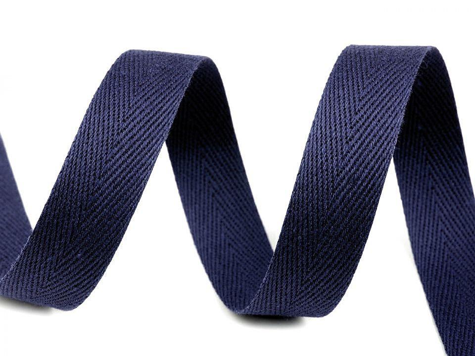 Keprovka - tkaloun šíře 18 mm, barva 7705 modrá pařížská