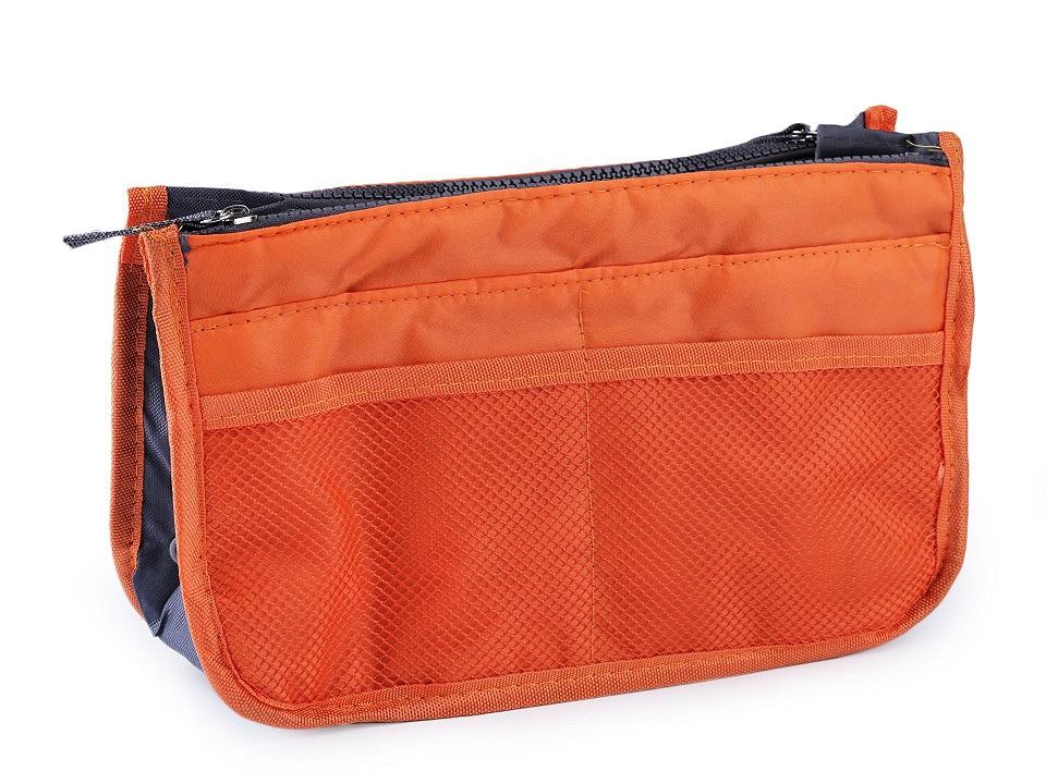 Organizér do kabelky 16x27 cm, barva 4 oranžová