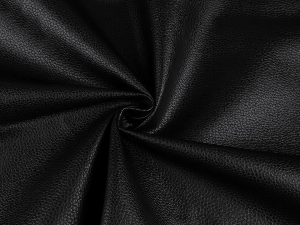 Koženka pro módní doplňky, barva 10 (1) - 460 g/m² černá
